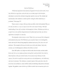 into the wild essays into wild study   homemadephotos   bloguezcom into wild study guides
