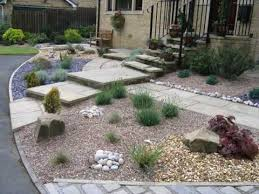 Small Front Garden Design With Gravel YouTube Adorable Gravel Garden Design