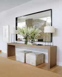 Living Room Entrance Designs Embrace Mirrors Retro Couch Spaces And Dark Walls