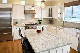 dallas white granite kitchen countertop