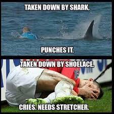 Viral in Social Media: Surfer Mick Fanning Escapes Shark Attack via Relatably.com