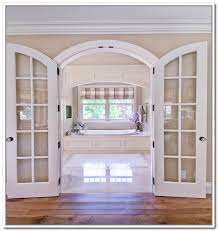 Furniture,Old Fashionated Arched French Doors Interior,Expedience Anderson  French Door For Home | shutters and doors | Pinterest | Arch, Doors and  Interiors