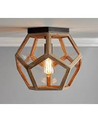 clear glass prism pentagon pendant light. Simple Prism Pentagon Prism Flushmount Inside Clear Glass Pendant Light I