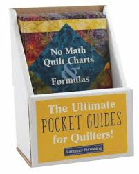 No Math Quilt Charts Formulas Pocket Guide Displays
