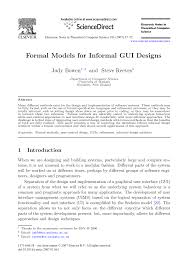 Designing The User Interface 3rd Edition Ben Shneiderman Pdf Formal Models For Informal Gui Designs Topic Of Research