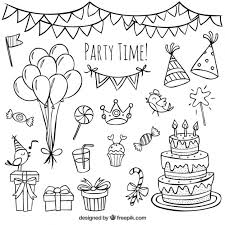 hand drawn birthday doodles_23 2147523902 doodle vectors, photos and psd files free download on whatsapp chat template psd