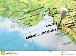 Resultat d'imatges de bombay india mapa