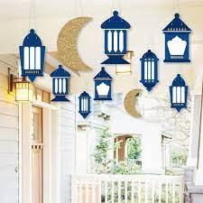 Amazon.com: Hanging Ramadan - Hanging Outdoor Decor - Eid Mubarak  Decorations - 10 Pieces: Health & Personal Care