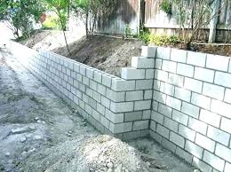 building a concrete wall cinder block wall footing block wall footings cinder block retaining wall footing building a concrete wall