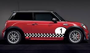 mini cooper racing car numbers