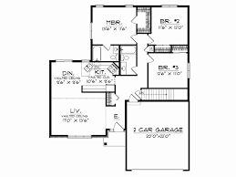 modern one level house plans new small single story modern house plans design farmhouse