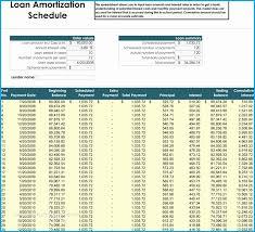 Student Loan Amortization Schedule Template Unique Auto Loan
