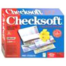 Checksoft Personal Deluxe Software Retail Box Create Checks Balance Checkbook