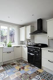 residential renovation victorian house london kew interior designer kitchen encaustic cement tiles patchwork brick splashback kitchen accessories