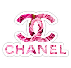 PINK CHANEL ROSES LOGO