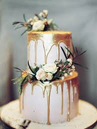 Trending 15 Creative Metallic Wedding Cakes For 2018 Oh Best Day Ever