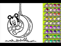 Small Picture Mickey Coloring Pages Free Online Coloring Games YouTube