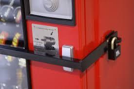 Vending Machine Security Fascinating Vending Machine Security Strap With Padlock Security Equipment