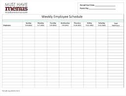 Schedule Maker Work Excel Schedule Generator Work Employee Template Templates Calendar