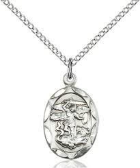 st michael the archangel necklace