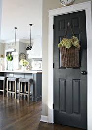 black interior doors how to