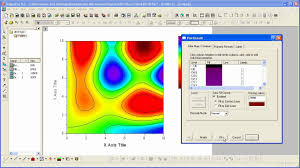 Graphing Origin Contour Plots And Color Mapping Part 2 Customizing A Contour Plot