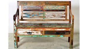 Bank Riverboat Altholz Rustikal Sitzbank Esszimmer 120 Cm