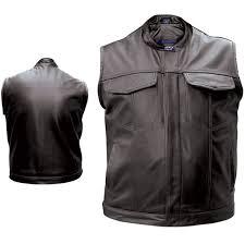 allstate leather inc men s concealed carry leather vest