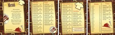 Como Hacer Menus Para Restaurantes Under Fontanacountryinn Com