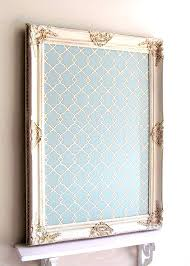 decorative framed cork board magnet bulletin teal by boards for walls