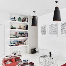 l11 cylindrical modern black pendant scandinavian interior design ceiling lamp the steel interior design lamps90