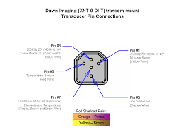 ehrler's use of xnt 9 di t transducer with 1198? Humminbird 160 Wiring Diagram down imaging xnt 9 di t transducer pin connections png Hummingbird Fish Finder Wiring-Diagram