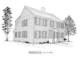 free saltbox house plans floor 2 story p