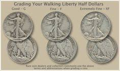 Walking Liberty Half Dollar Grading Jerry W Dillon