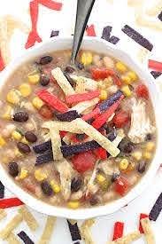 homemade fil a en tortilla soup