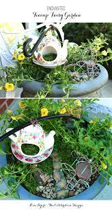 make an enchanted fairy garden kim byers
