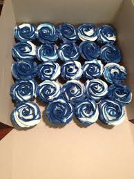 Navy Blue And White Cupcakes Cakes And Cupcakes I Have Made And