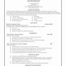 Resume For College Application Template Valid Example College Resume ...