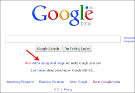 Google Homepage Background How To Add Background Wallpaper To Google Homepage