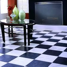 black and white checd laminate flooring