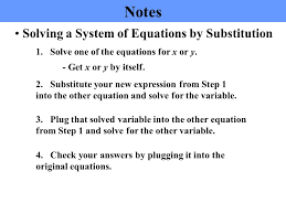 4 solving systems
