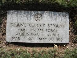 Duane Kelley Bryant (1925-1983) - Find A Grave Memorial