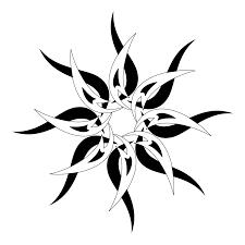 эскиз трайбл татуировки солнце Tribal Sun татуировку рф фото