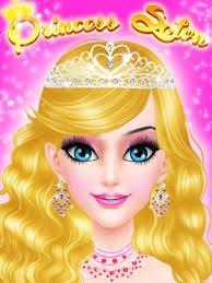 salon games royal princess makeup salon game apk screenshot