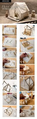 How To Make A Tent How To Build Miniature Work Camp Tents Adventureaweekcom