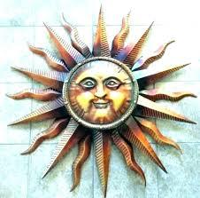 sun face wall art outdoor sun face wall art metal sun face wall art outdoor large