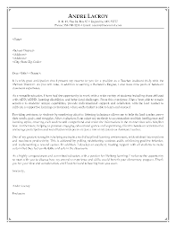 cover letter teaching template cover letter teaching