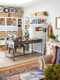eclectic home office. Eclectic Home Office With Ballard Designs Gentry Chair Brass Nailheads, Ikea Ekby Jarpen Wall O