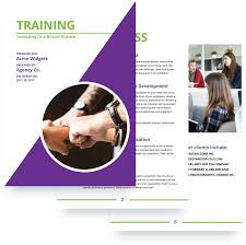Training Proposal Template Free Sample Proposify