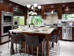 table island combo. kitchen island table combo pictures ideas from hgtv d